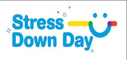 Stress Down Day logo